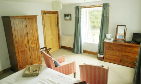 Double Room with views over the Bridge of Gaur